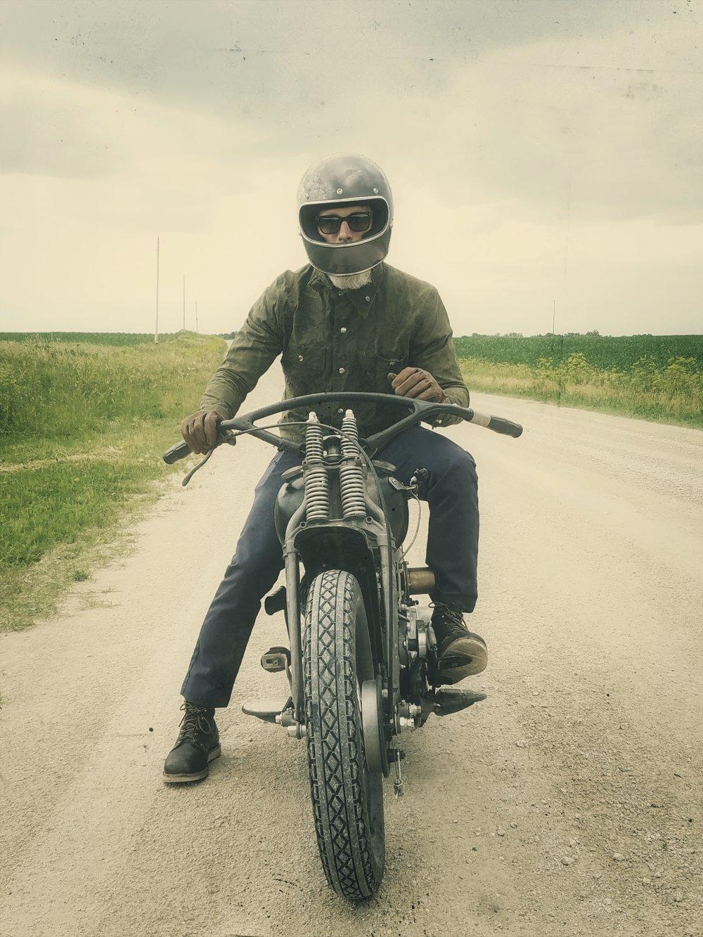 Black Bear Brand and Harley-Davidson