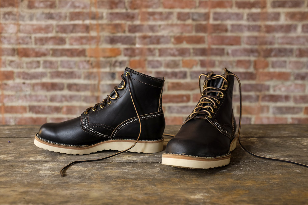 Black Bear Brand x Wesco Jobmaster in Horween Leather