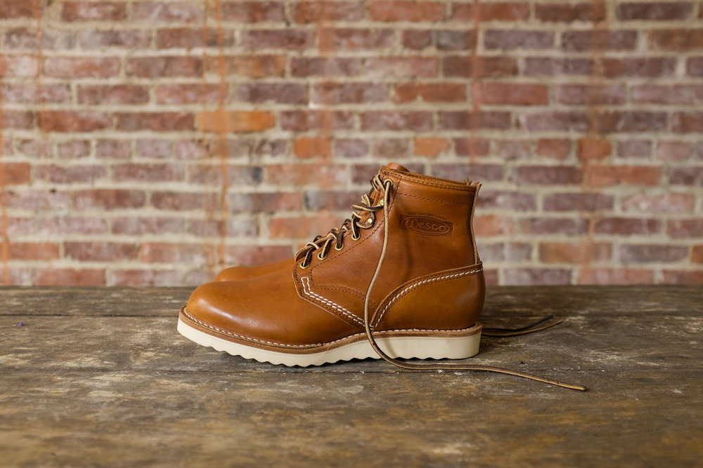 Black Bear Brand x Wesco JOBMASTER in Rio-Latigo Horween Leather.