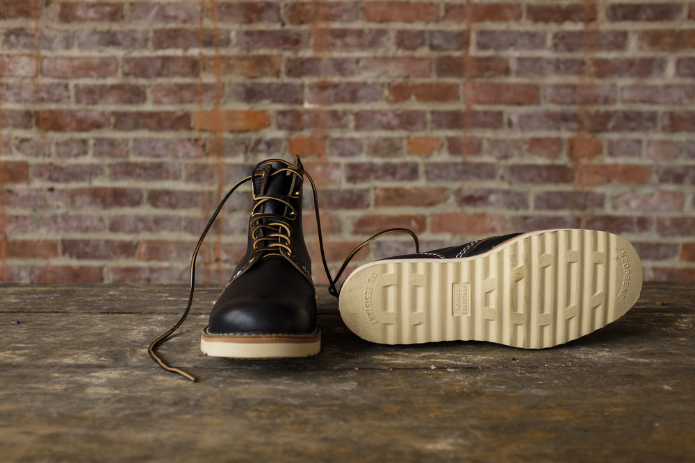 Black Bear Brand x Wesco JOBMASTER in Horween Leather https://blackbearunion.com/black-bear-brand-factory-store/?category=Footwear