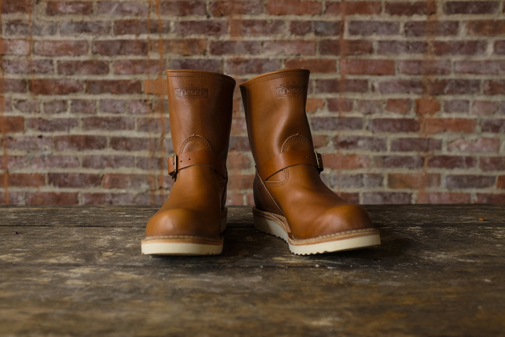 Black Bear Brand x Wesco BOSS in Rio-Latigo Horween Leather.