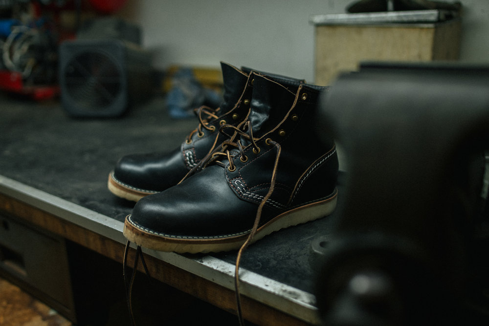 BLACK BEAR BRANDJobmaster boots - Wesco / Horween