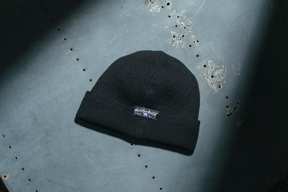 6ad326ecff5 Black Bear Brand black watch cap