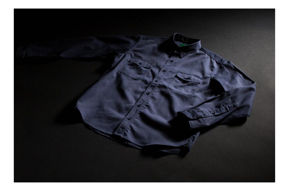 Navy - Long Sleeve Shirt (Black Bear Brand - Dickies 1922 Exclusive ... 21307e0aa6c
