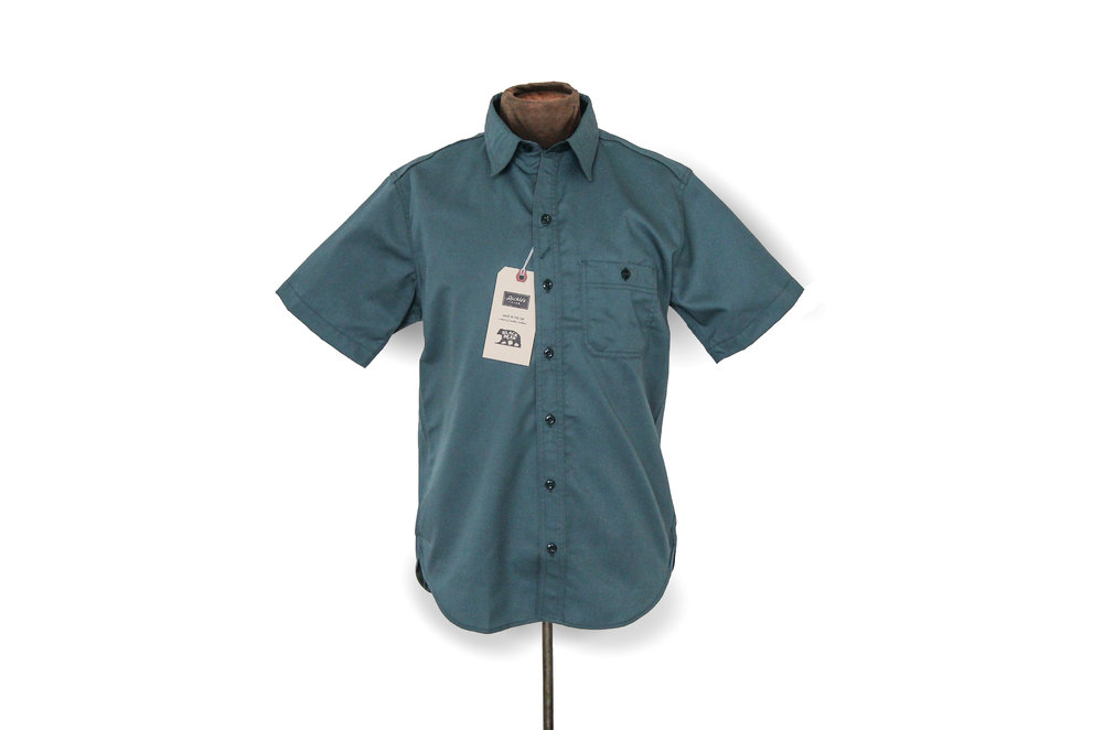 d1ab7f09e6e Lincoln Green - Short Sleeve Shirt (Black Bear Brand - Dickies 1922  Exclusive)