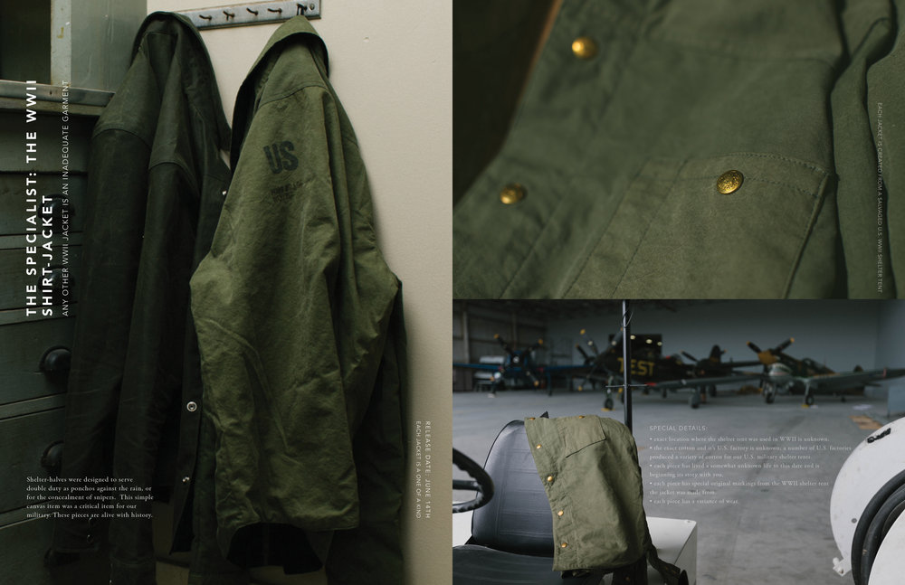 The Specialist: The WWII Shirt-Jacket