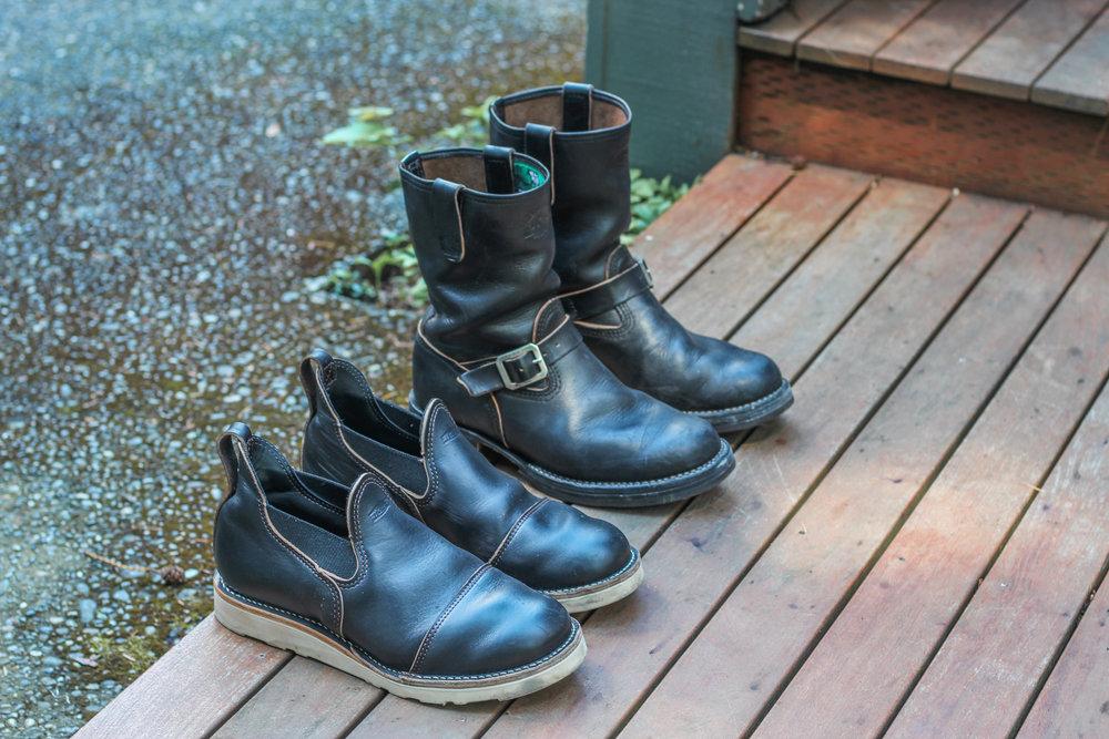 Black Bear Brand horsehide collection