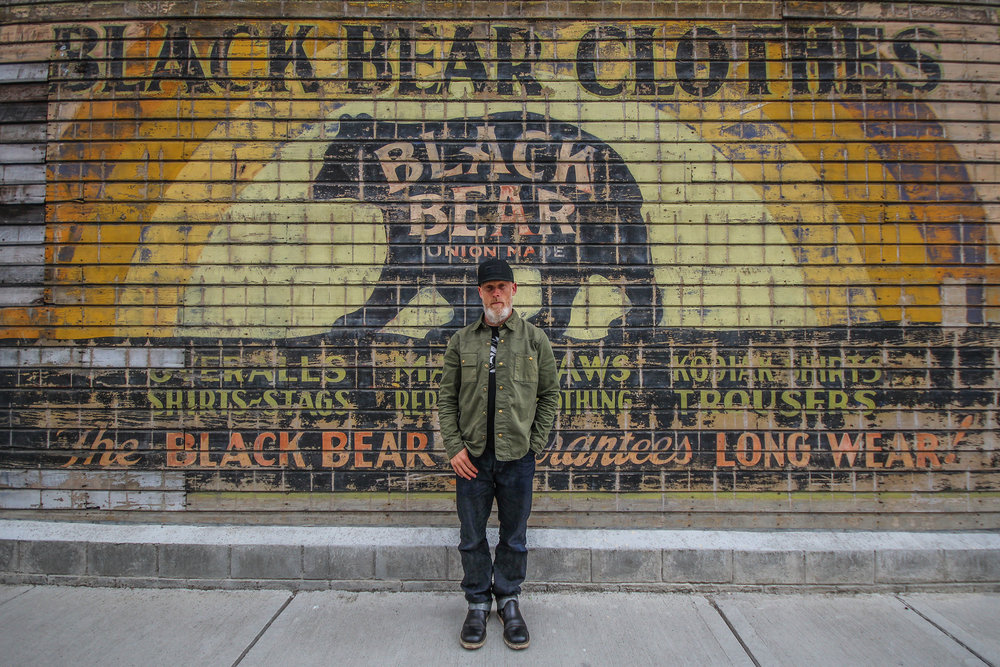 Black Bear Brand wall