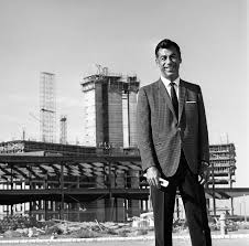 Kirk at the construction of the International Hotel in 1968.