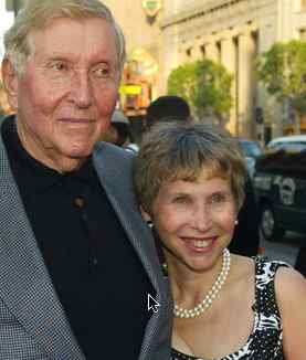Shari Redstone with father Sumner Redstone