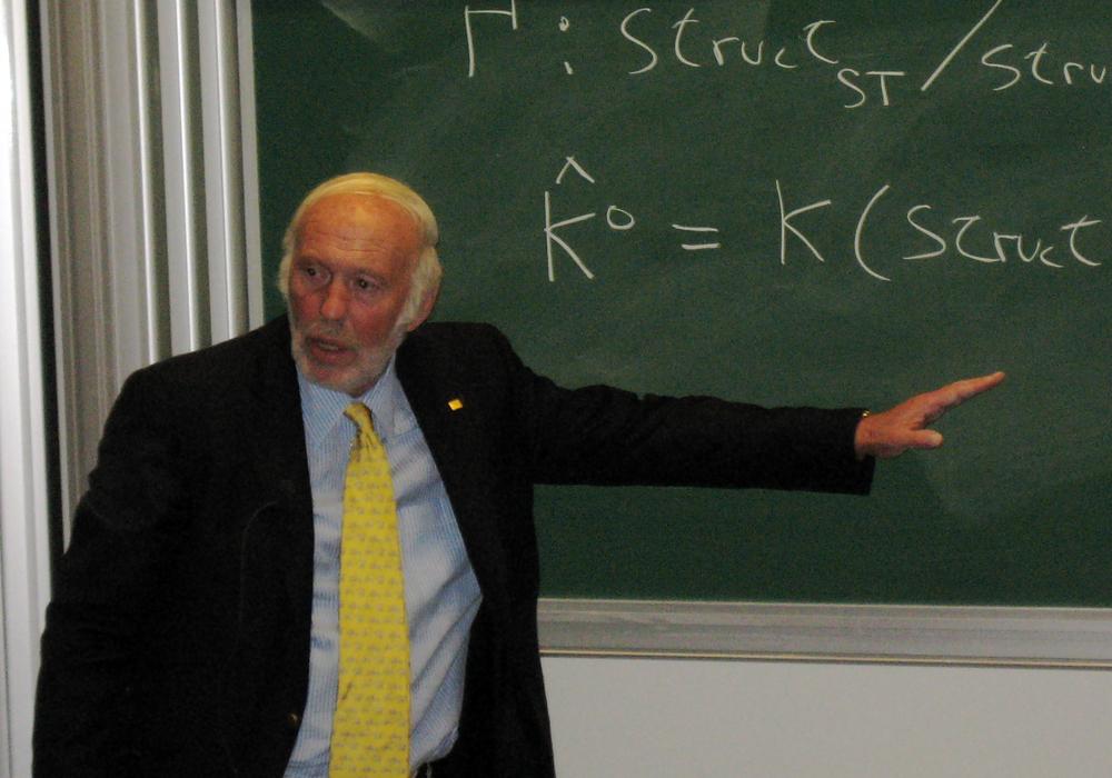 Jim Simons of Renaissance Technologies