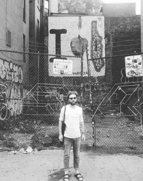 T in the East Village NYC