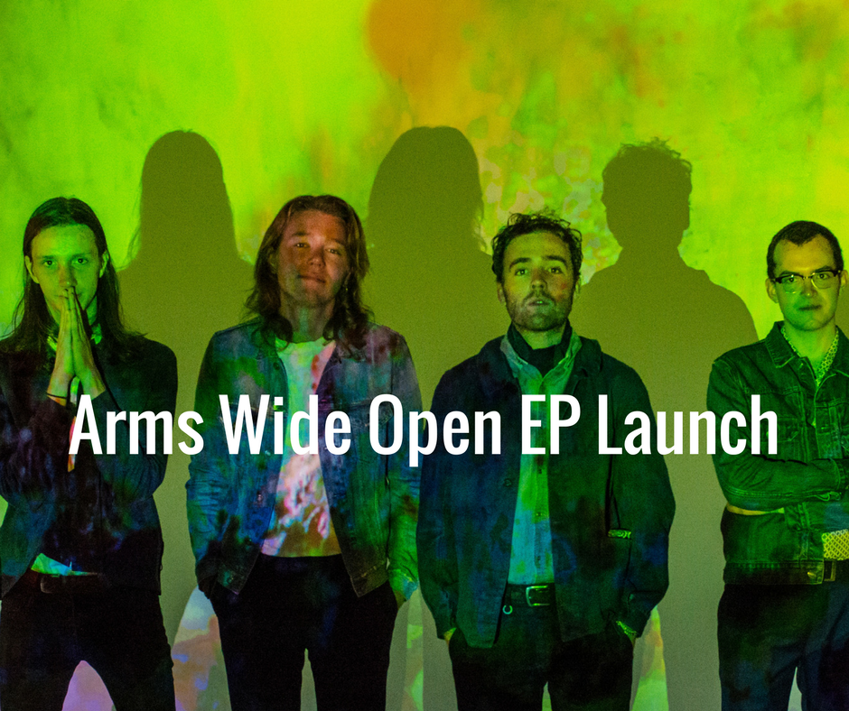Super excited to announce our Arms Wide Open EP launch show at Bar Open, 317 Brunswick St, Fitzroy VIC. We will be playing all of our new songs from the EP, a few classics & maybe a couple of really really new ones! Fun & super groovy times ahead so come join the party everybody! With special friends Wesley Fuller & Dumb Dog PLUS guest DJ's groovin the decks! Doors open at 8:30pm. Music starts 9:00pm with Dumb Dog followed by Weseley Fuller. INFO : https://www.facebook.com/events/1309591192421675/