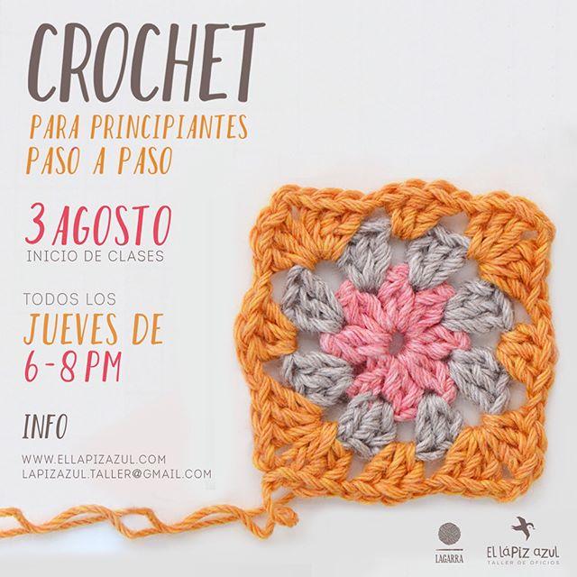 Nuevos talleres, Crochet con @lagarradeco Dibujo Lineal con @carlos.dearmas Dibujo Anatómico con @gustavo_rico_navarro Inscripciones WhatsApp 3218104522