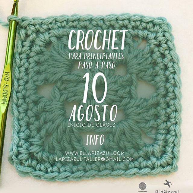 Mañana a las 6 pm iniciamos taller crochet con @lagarradeco últimos cupos!