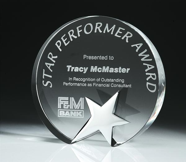 Top Star Award - Circle