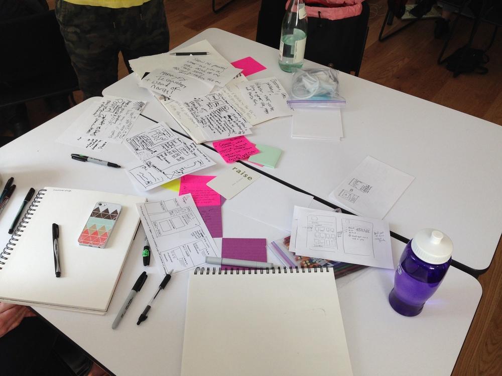 Sketching, sketching, sketching