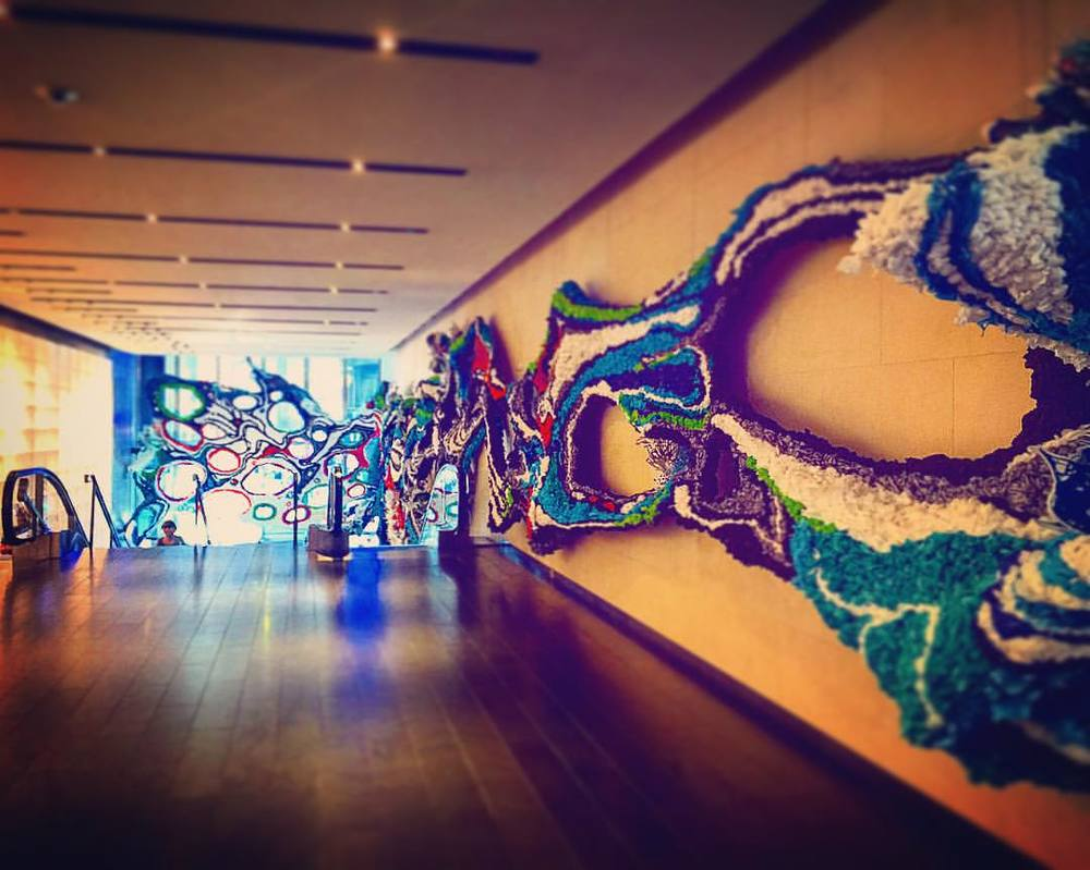 If these walls could talk…. They'd have so much to say! 🌈🙈🙉🙊🎨 || #nyc #art #decor #design #rainbow #color #inspo #iloveny #mtv #vh1 #bet #palladium #music #openhouseny (at Viacom)