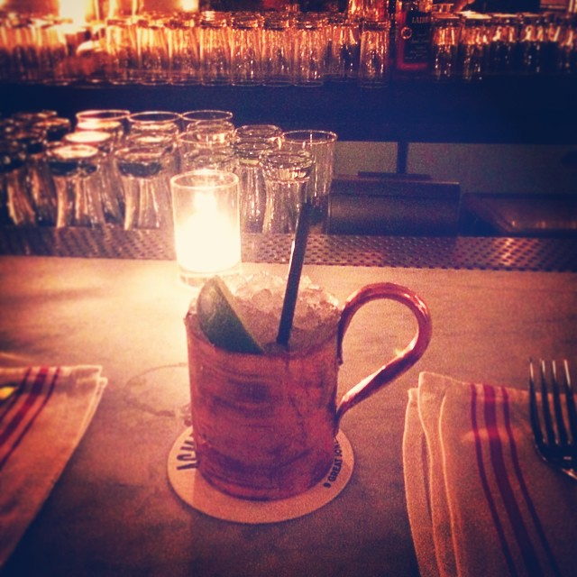 Copper Mule 🐴 (at ACME)