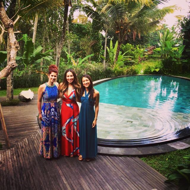 Suffering from post-Bali-syndrome 😞   #tbt #peterlovesnadja @pfrawlz @soyonabanana @nadjasumter  (at chapung sebali, ubud, bali)