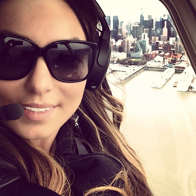 Helicopter #selfie 🚁 (at New York City)