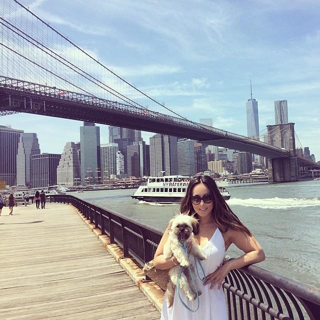 Gorgeous day! #brooklynbridge 👌 (at Brooklyn Bridge Park)