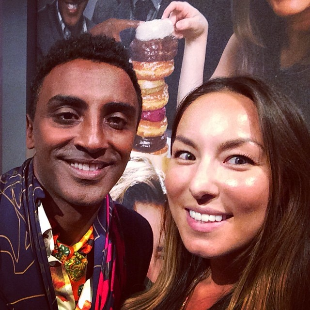 Delish catering from @redrooster chef @marcuscooks, #aenupfront  (at Park Avenue Armory)