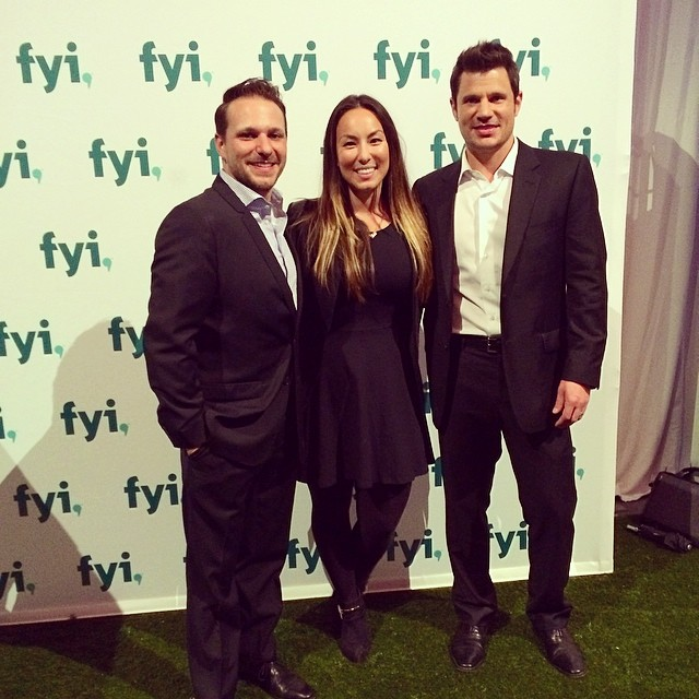 Double Lacheys double the fun! #AENupfront @fyi  (at Park Avenue Armory)