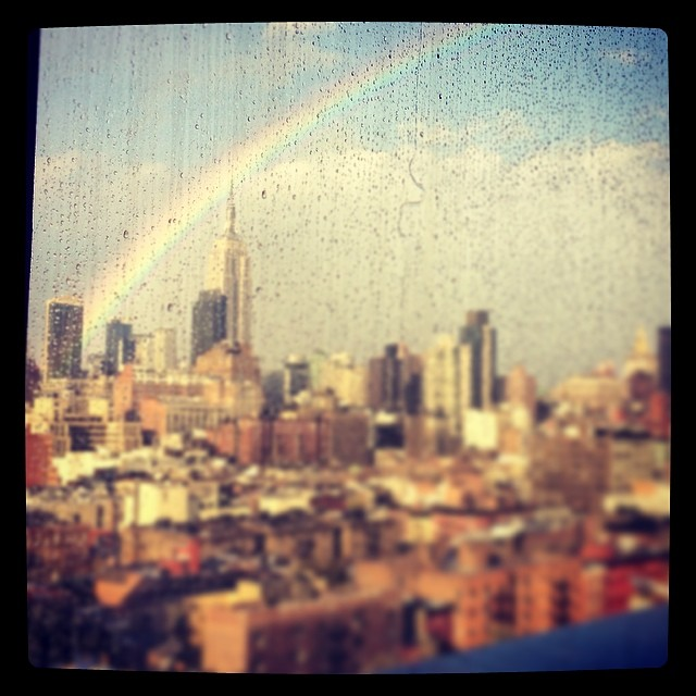 #doublerainbow (at PH-D Rooftop Lounge at Dream Downtown)