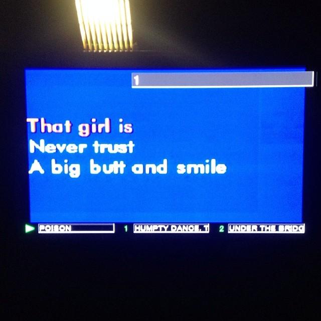 at Sing Sing Karaoke