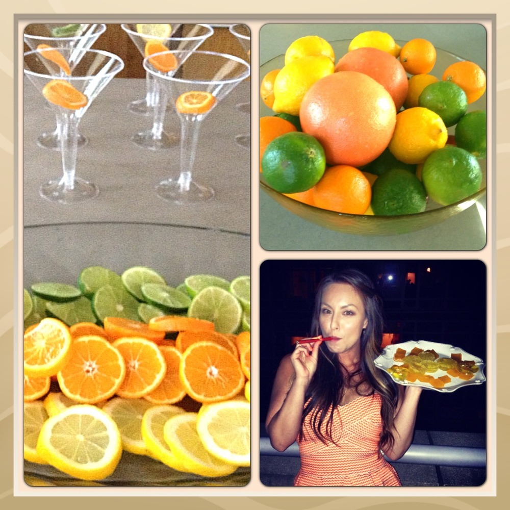 Summer Party on my roof terrace! Citrus theme 🍊🍋🍍🍊