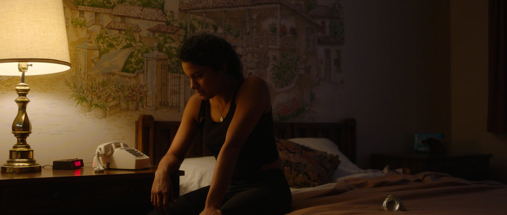 KAYA - KAYA, starring Shakira Barrera (Netflix's GLOW, Queen of the South), is a thriller short film and a proof-of-concept for the feature, Wild Cry Ha. The film was shot in Socorro, New Mexico, July 2018 and was supported in part by a grant from The Future of Film is Female.