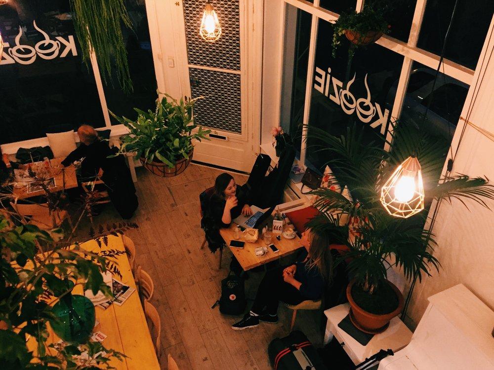 Cafe KOOZIE -Rotterdam, Netherlands