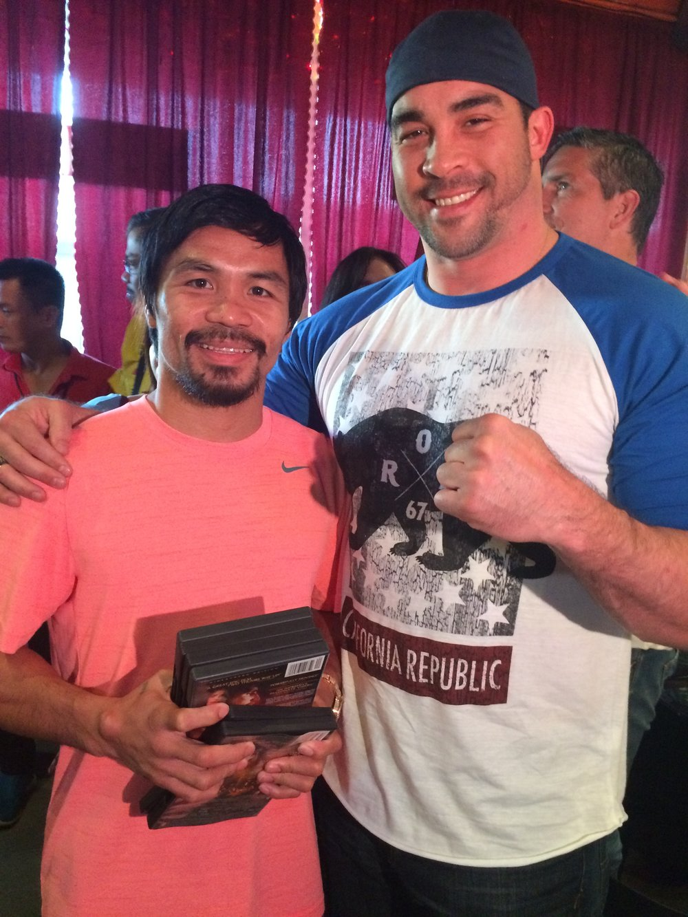 David w/Manny Pacquiao