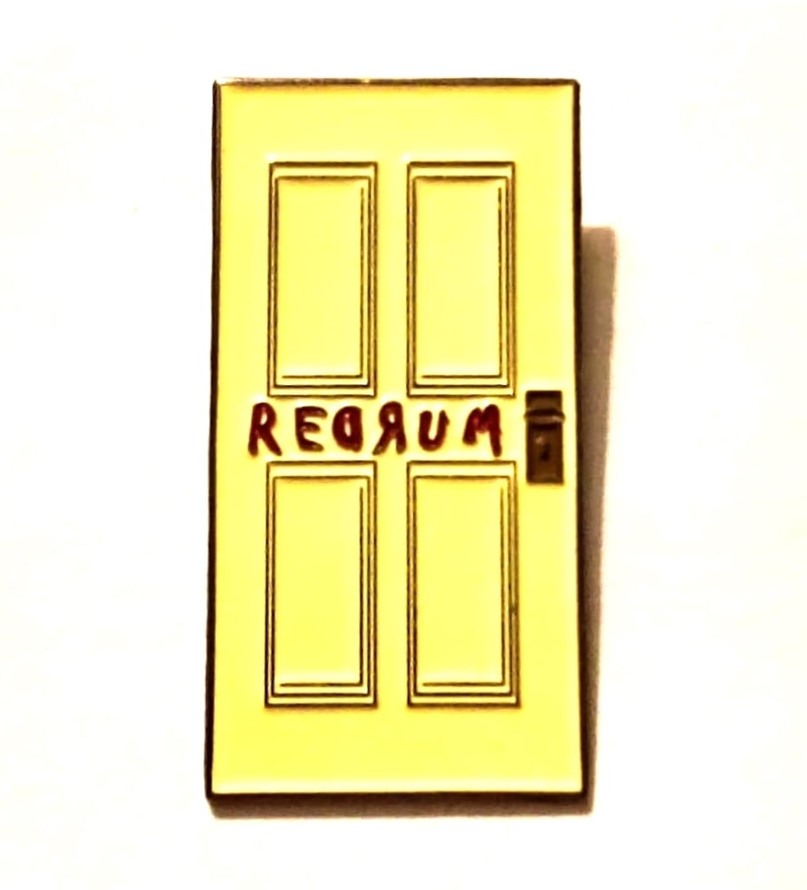 The REDRUM DOOR Lapel Pin  sc 1 st  quasivisualarts & Collectibles \u2014 quasivisualarts