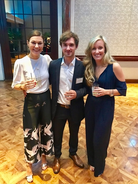 Jill Harrill, Anderson Gibbons and Katherine Shoaf at the Spirit of Life Award Dinner