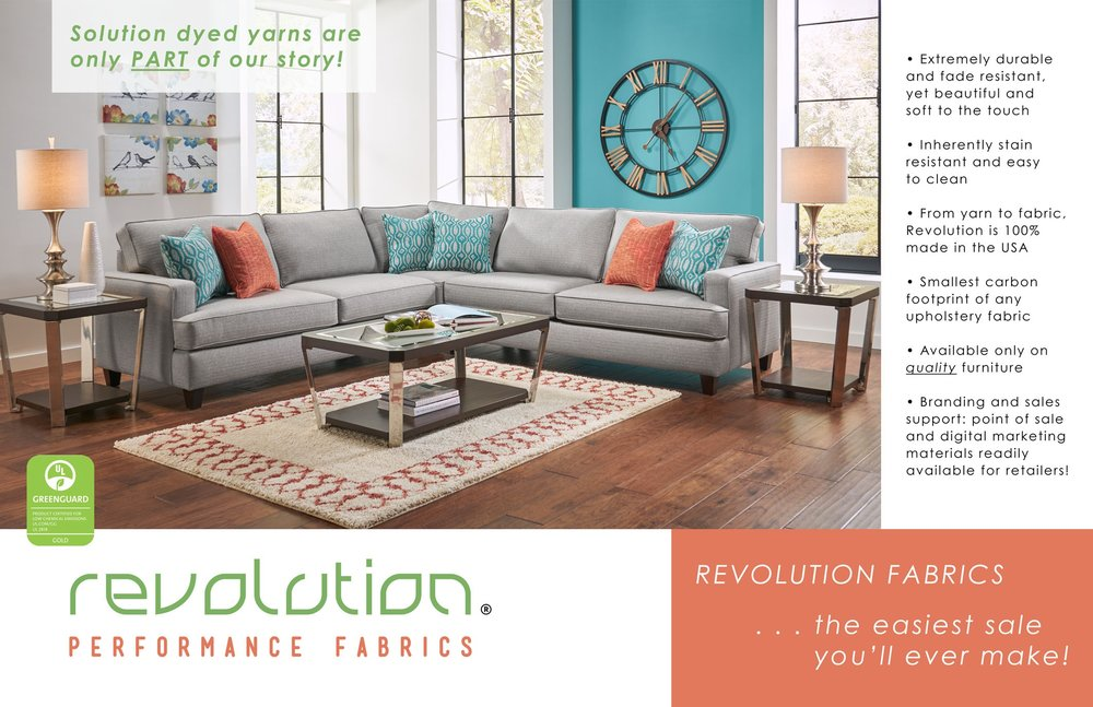 *A recent Revolution ad in Furniture Today