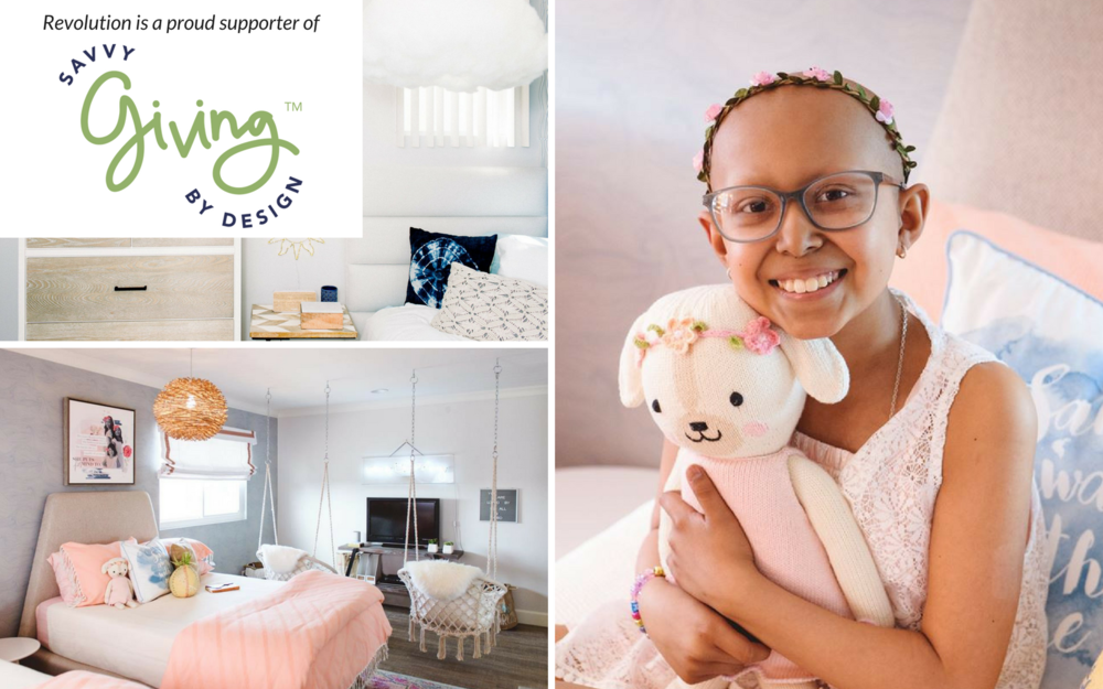 Savvy Giving by Design was founded in 2014 by Susan Wintersteen, owner and principal designer of Savvy Interiors located in San Diego, California.