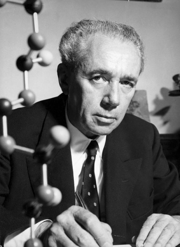 Guilo Natta, the chemist who developed the process to make Olefin suitable for textiles.