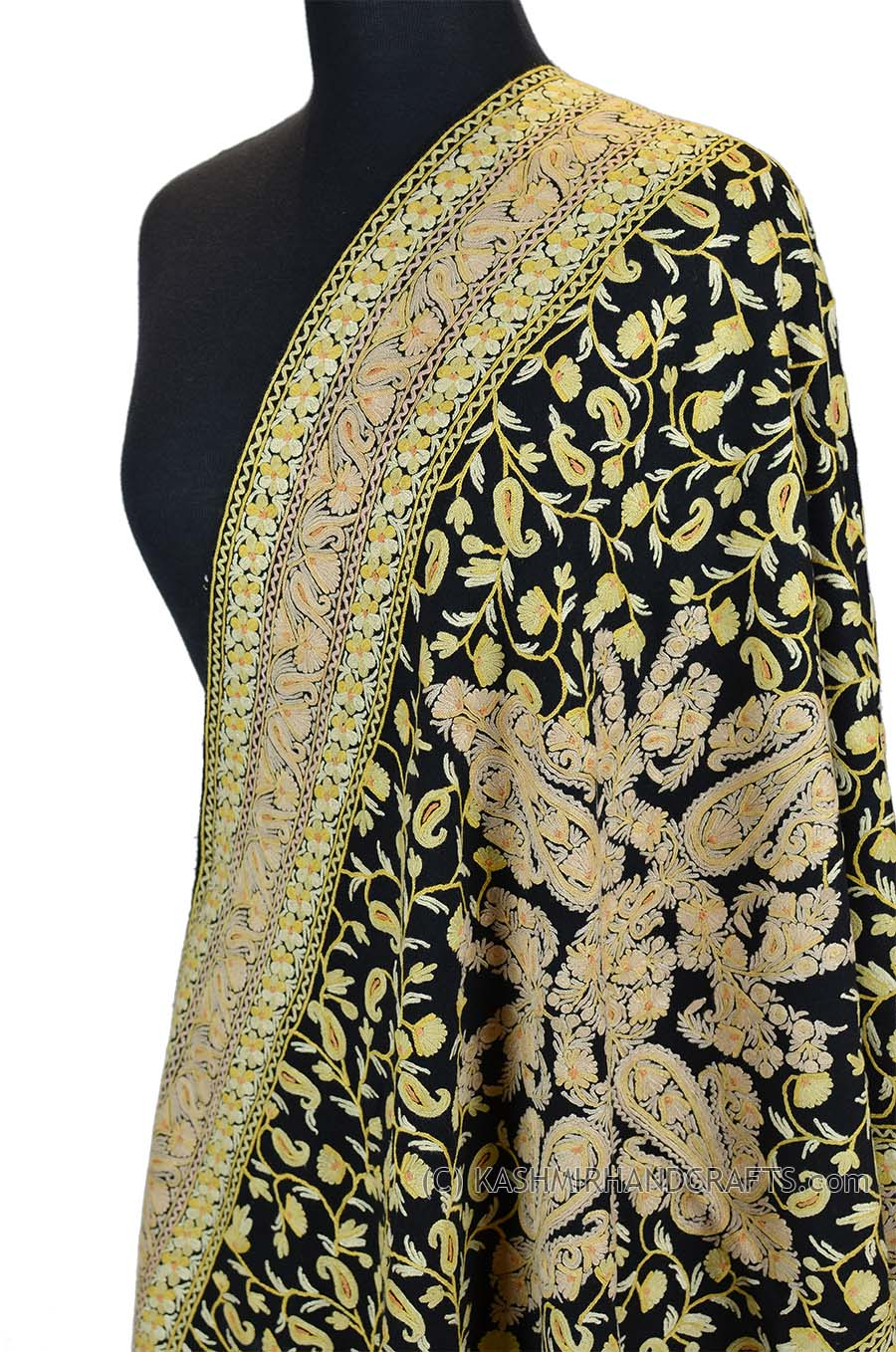 An example of a Kashmir paisley shawl