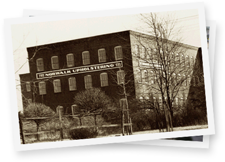 The Norwalk Upholstering building in 1936.