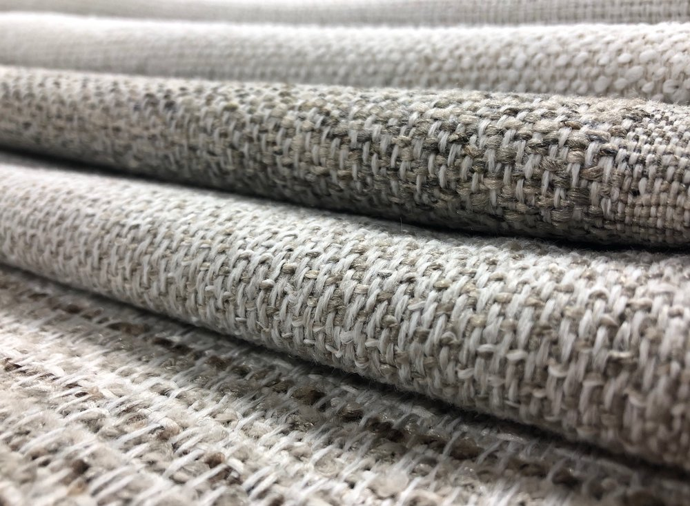 A close up of a few of our Artisan collection patterns