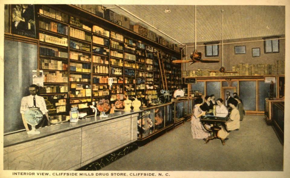 Cliffside Mills Drug Store
