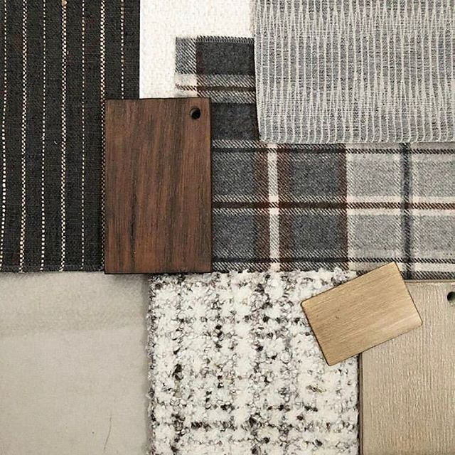 We can't wait to see this lodge inspired project by @noablakedesign  It's going to be so cozy ✨  #interiordesign #performancefabric #upholsteryfabric #jacquard
