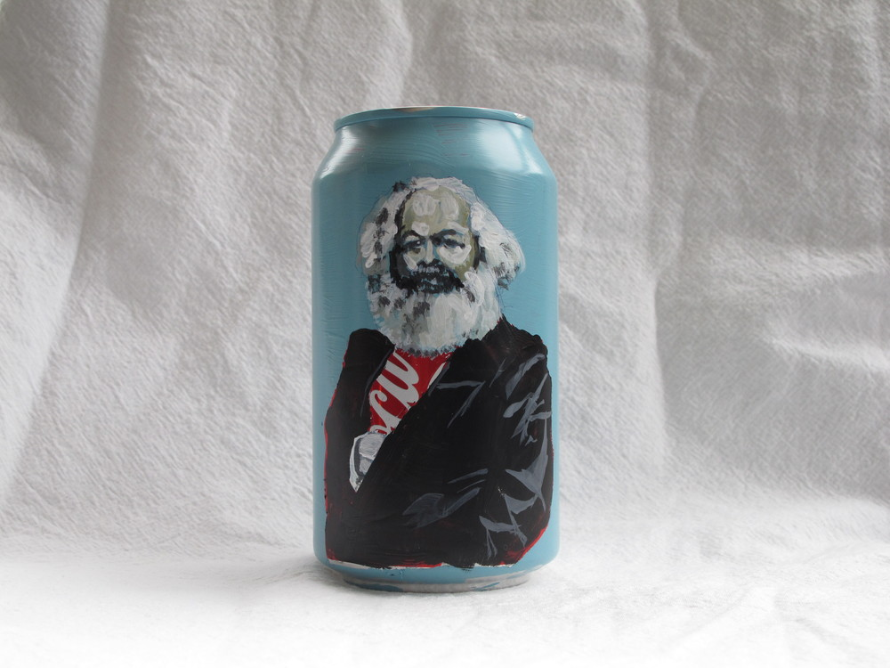 Kaveh Irani_Marx Can_Coke Can_2013.JPG
