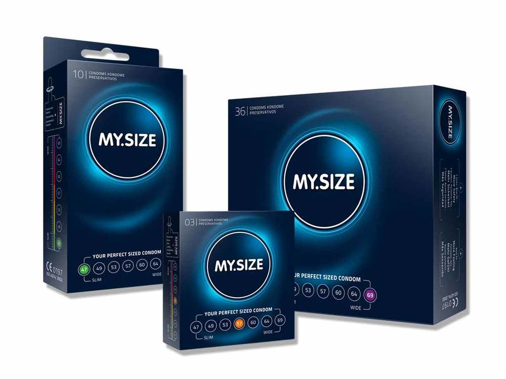 MY.SIZE condoms - your perfect sized condoms