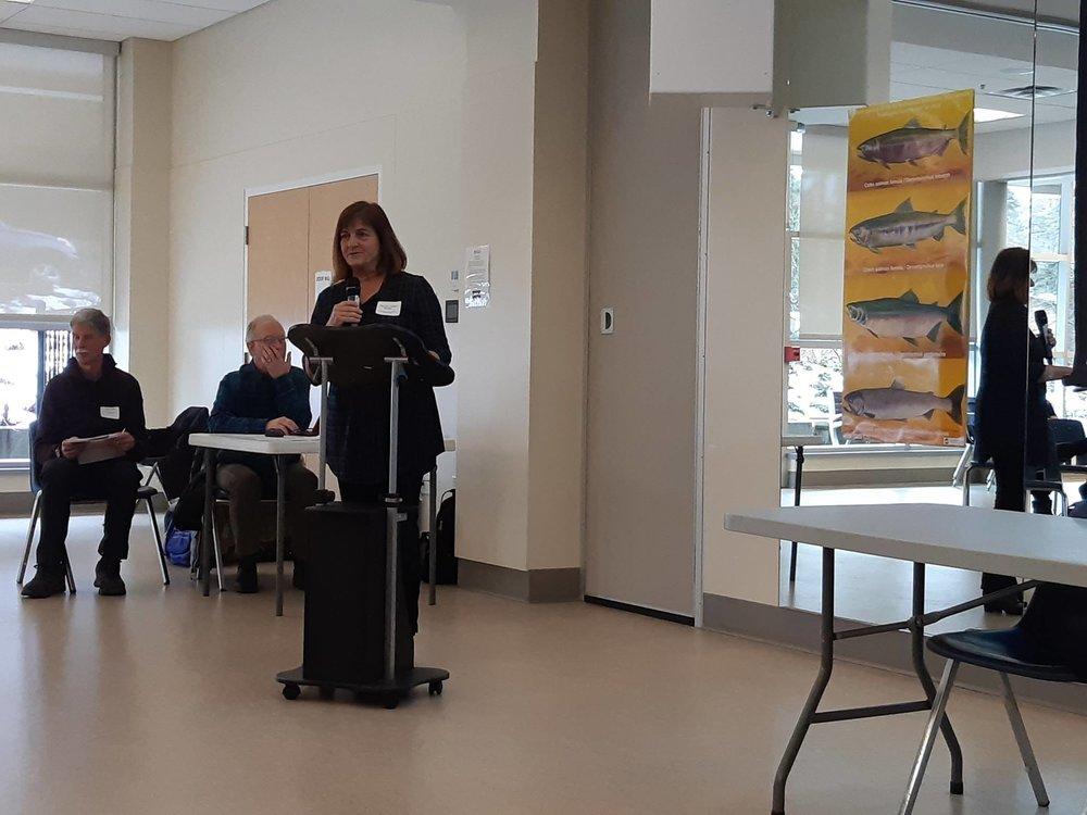 Presentation by  ZoAnn Morten ,  Pacific Streamkeepers Federation