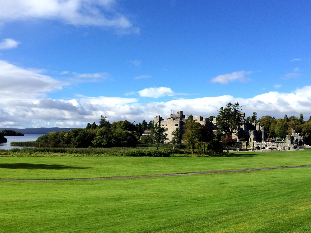 Ashford Castle in Ireland's County Mayo. Ireland is full of gorgeous landscapes, and castles...many castles.