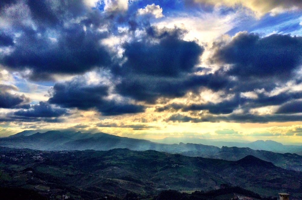 The discomfort is worth it for views like this. San Marino, San Marino.