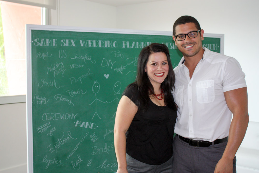 Presenters, Cicely Rocha-Miller and Drew Coleman of Life Design Event Planning